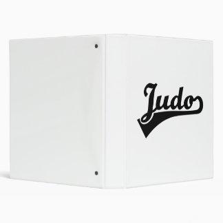 Judo Binder