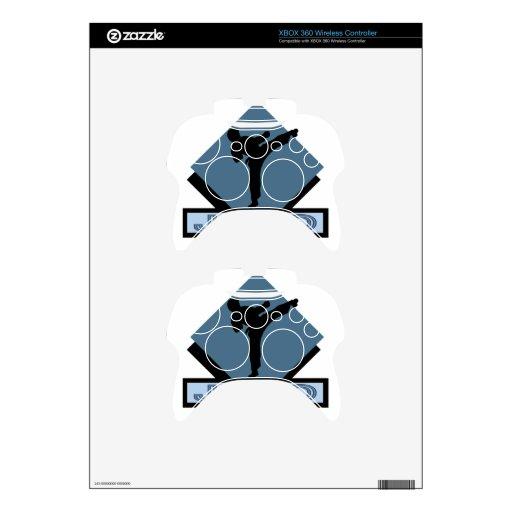 Xbox 360 Controller Diamond Judo blue diamo...