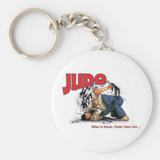 Judo Choke Out Keychain