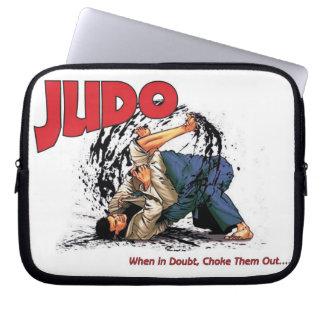 Judo Choke Out Computer Sleeve
