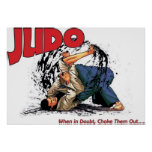 Judo Choke Out Print