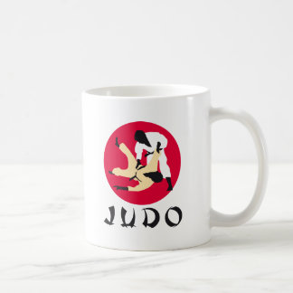 Judo Classic White Coffee Mug