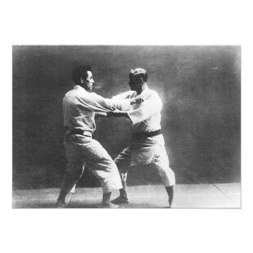 Judo de Judoka Jigoro Kano Kyuzo Mifue del japonés Anuncios Personalizados