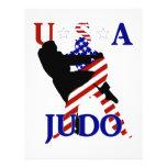 Judo de los E.E.U.U. Flyer Personalizado
