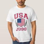 Judo de los E.E.U.U. Poleras