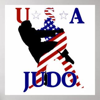 Judo de los E.E.U.U. Póster