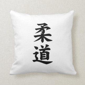 judo del kanji almohadas