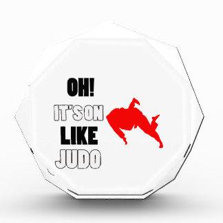 Judo Designs Acrylic Award