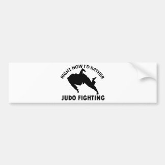 Judo Designs Bumper Stickers