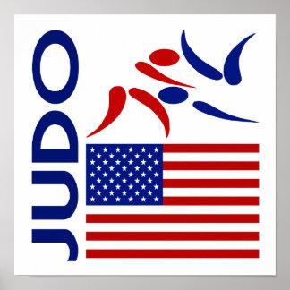 Judo Estados Unidos Poster