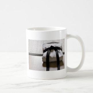 Judo Gi on Tatami mat Coffee Mug