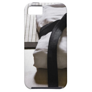 Judo Gi on Tatami mat iPhone SE/5/5s Case