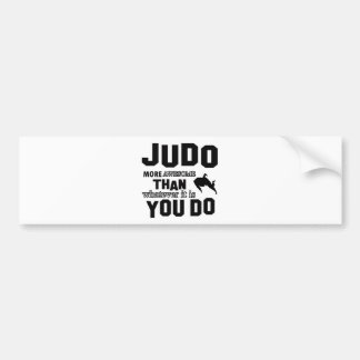 JUDO is awesome Bumper Sticker
