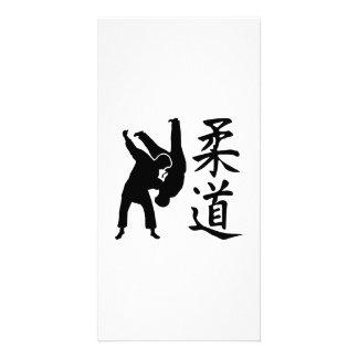 Judo kanji photo card