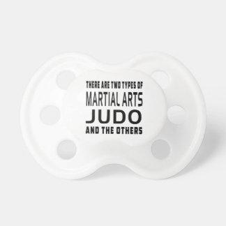 Judo Martial Arts Designs Pacifier