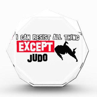 judo martial design acrylic award