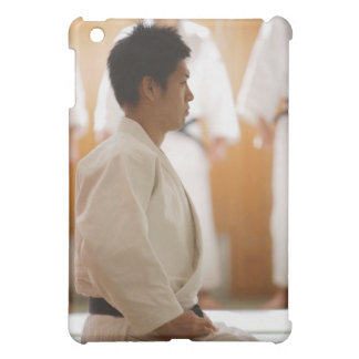Judo Master Kneeling On a Mat Case For The iPad Mini
