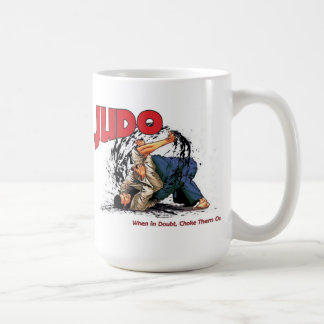 Judo Mug choke out