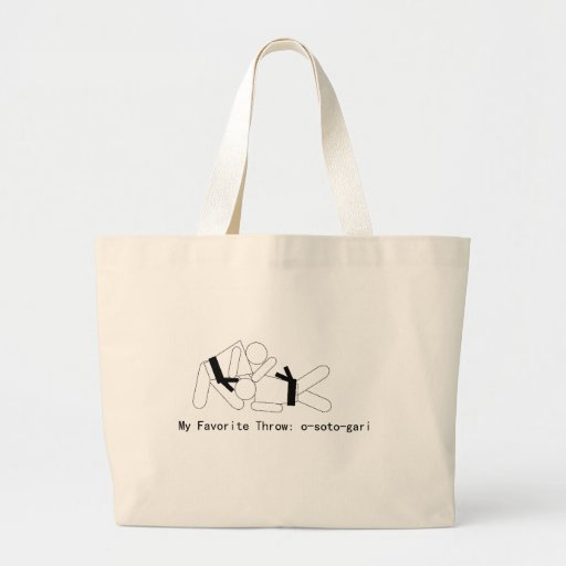 Judo My Fav Throw Osoto Gari Bag