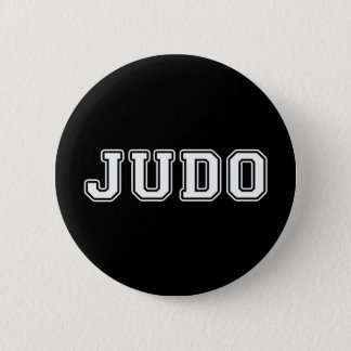 Judo Pinback Button