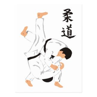 Judo Post Card