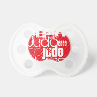 Judo; Scarlet Red Stripes BooginHead Pacifier