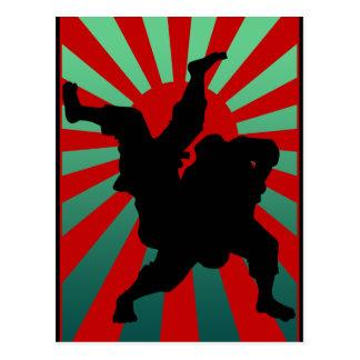 judo sun rising ポストカード