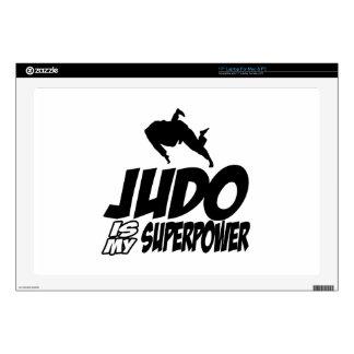 Judo Superpower Designs Laptop Decal