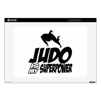 Judo Superpower Designs Laptop Decals