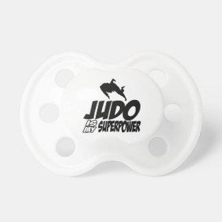 Judo Superpower Designs Pacifier