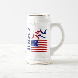 Judo United States Beer Stein