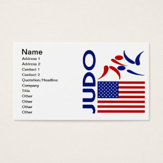 Judo United States Business Card