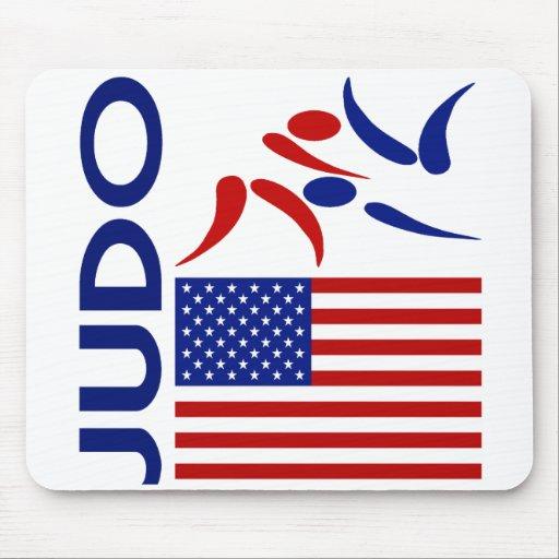 Judo United States Mouse Pad