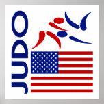 Judo United States Poster