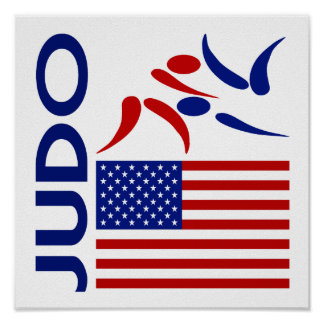 Judo United States Poster
