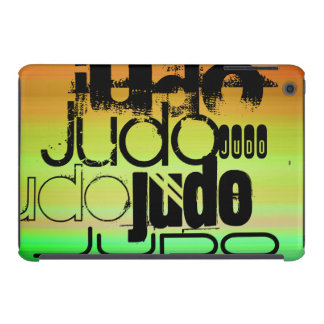 Judo; Vibrant Green, Orange, & Yellow iPad Mini Case