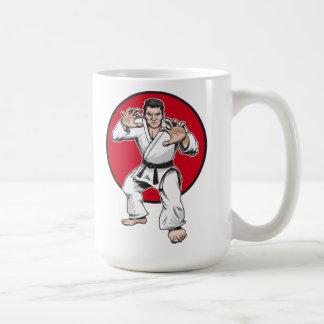 Judo warrior mug
