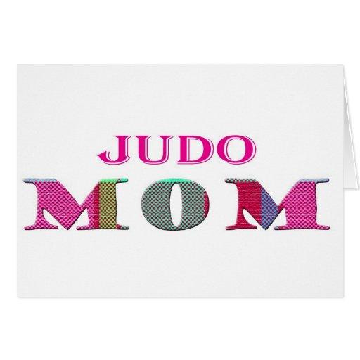 JudoMom Greeting Card