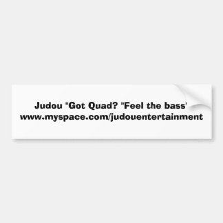 Judou Let It Rain Quad Bumper Sticker Car Bumper Sticker