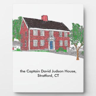 Judson House Plaque