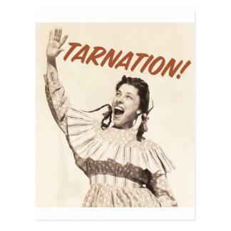 Judy Canova - Tarnation.Shirt Post Card