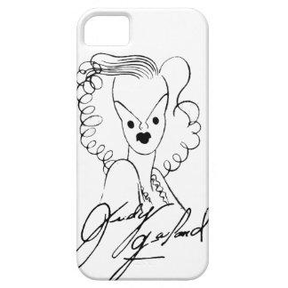 Judy Garland Caricature iPhone 5 Case