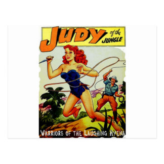 Judy of the Jungle Postcard