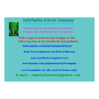 JudyMarisa Eclectic Company, fotografía de Digitac Tarjetas De Negocios