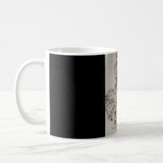 Judy's-Artworks Victorian Big-Hat Lady Coffee Mug