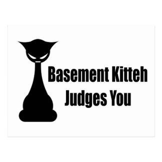Jueces de Kitteh del sótano usted Postal