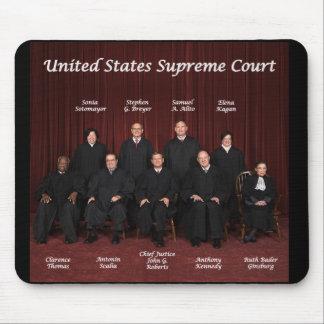 Jueces del Tribunal Supremos de Estados Unidos Alfombrillas De Ratones
