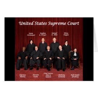 Jueces del Tribunal Supremos de Estados Unidos Tarjeta