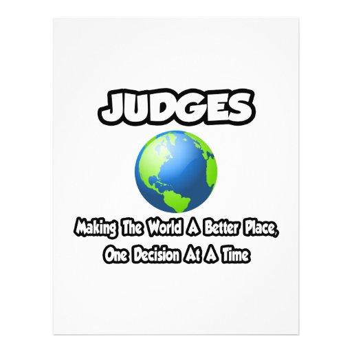 Jueces… que hacen el mundo un mejor lugar tarjetón