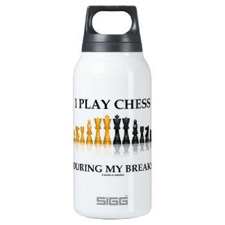 Juego a ajedrez durante mis roturas (el ajedrez